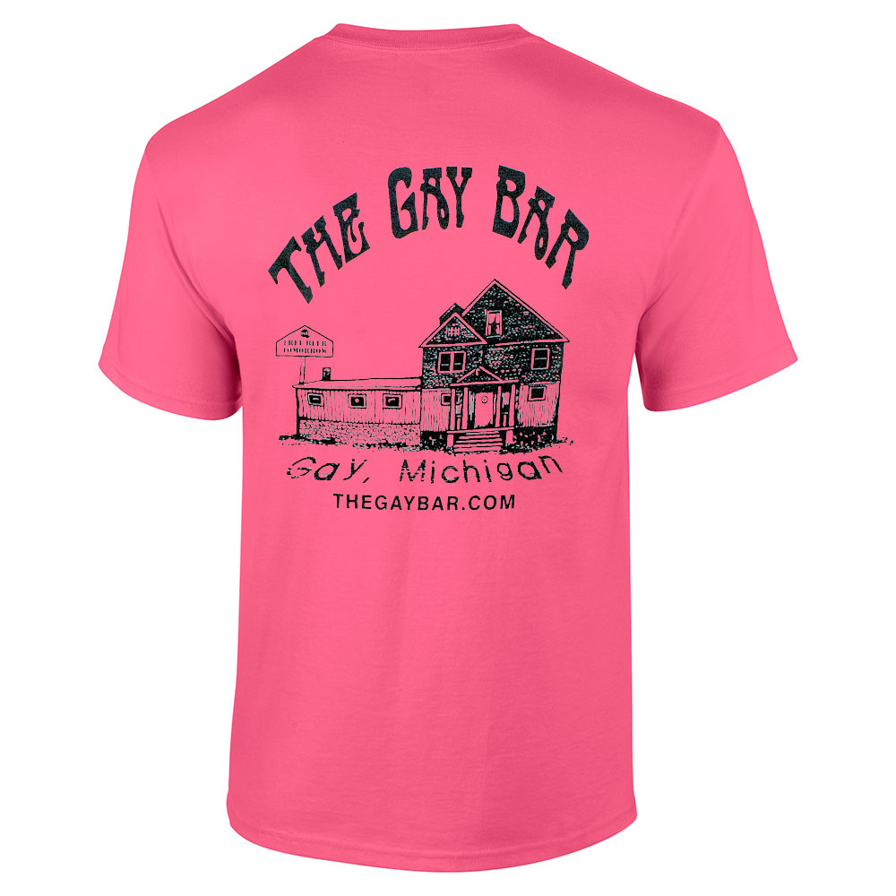 I Went Straight To The Gay Bar T-Shirt | The Gay Bar