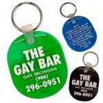 The Gay Bar Key Tag