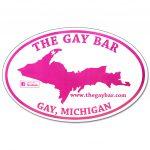The Gay Bar Sticker